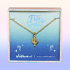 Cactus Necklace, Gold - Wildflower + Co. - Dainty Gold Cactus Necklace
