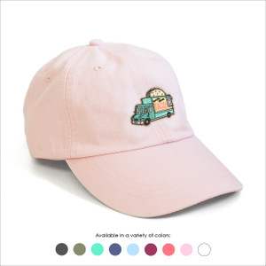 Taco Truck Embroidered Baseball Hat - Choose your hat color!