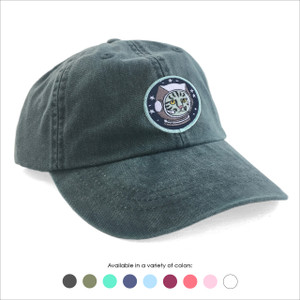 Astro Kitty Baseball Hat - Choose your hat color!