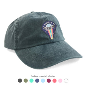 Take a Trip UFO Baseball Hat - Choose your hat color!
