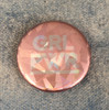 GRL PWR Holographic Button Pin Flair - Wildflower Co