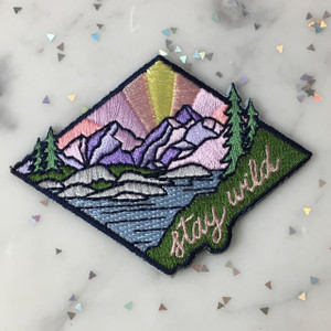 Stay Wild Patch