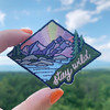 stay wild patch iron on patches embroidered nature camping wanderlust outdoors - wildflower + co. diy flair