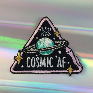 Cosmic AF Iron On Patch