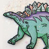 Crystal Stegosaurus Dinosaur Embroidered Patch Iron On Patches Flair - Wildflower + Co