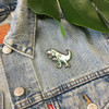 T-Rex Dinosaur Embroidered Patch Iron On Patches Flair - Wildflower + Co (3)
