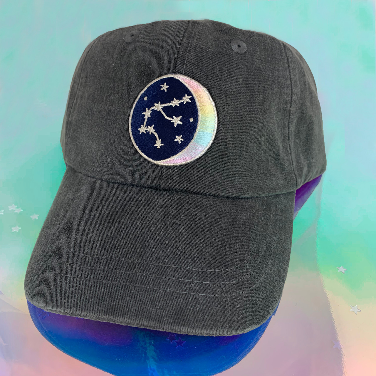Your Choice of Patch /& Cap Color Baseball Hat with Embroidered Patch Dad Hat