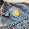 Sun moon Stars Patch - Embroidered Patches - Astrology Celestial Astronomy - Wildflower + Co. DIY