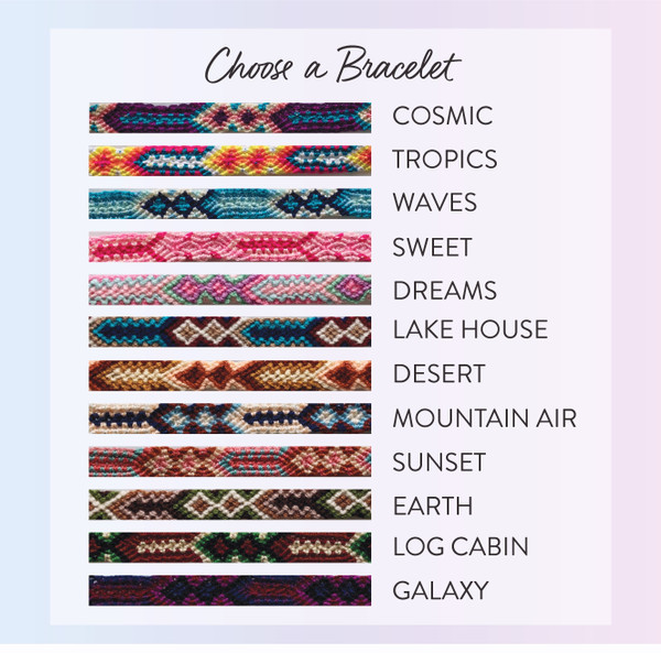woven friendship bracelets - wildflower + co.