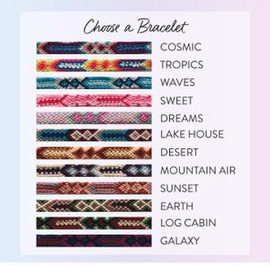 woven friendship bracelets - wildflower + co.