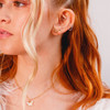 Bee Stud Earrings - Studs Earring - Dainty Tiny Gold - Cute Be Kind - Wildflower + Co. Jewelry Gifts (1)