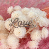Love Necklace Nameplate - Sterling Silver - Positive Positivity Affirmation - Wildflower + Co. Jewelry Gifts