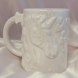 Magic Maker Unicorn XL Coffee Mug | Pastel Pink | Wildflower + Co.