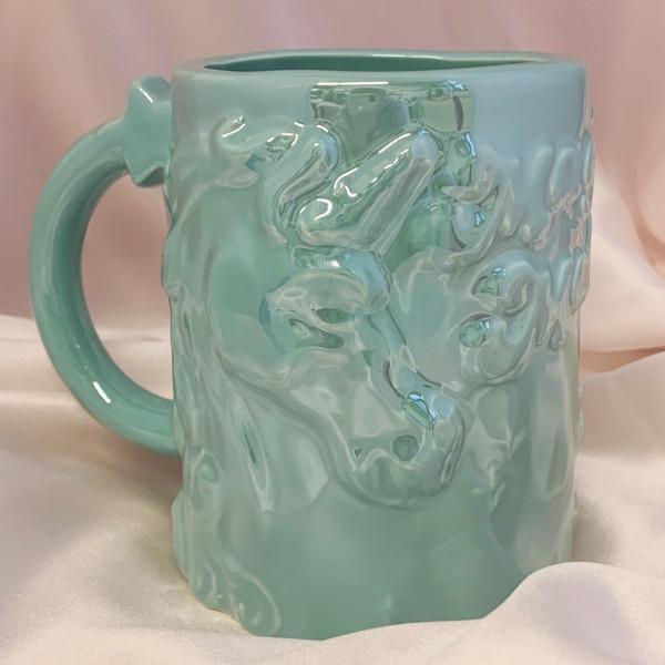 Unicorn Mug - Make Magic - Magic Maker - Cute Funny Mug - Teal Iridescent - XL Large Oversize - Wildflower + Cp (6)