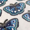 Lunar Butterfly Sticker - Glitter Holographic Vinyl Stickers - Lunar Moth - Night Butterfly - Moon Phases - Wildflower + Co (2)