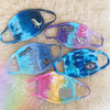 Tie Dye Face Mask Masks - Cute Cotton Fabric - Washable Reusable - Personalize with Color & Patch - Wildflower + Co (1)