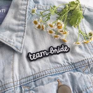 Team Bride Patch