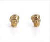 Dainty stud earrings are pretty awesome on their own, but bonus - Super versatile - they can go from being a dainty, everyday stud to a statement earring