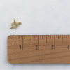 JW00174 Pave Heart Arrow Charm Pendant - Gold - Wildflower.Co