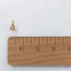 JW00096 Dainty Flower Charm -Gold- Wildflower.Co