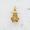 JW00096 Dainty Flower Charm -Gold- Wildflower.Co - Main