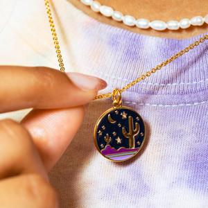 Desert Medallion Necklace