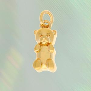 Gummy Bear Charm, Gold