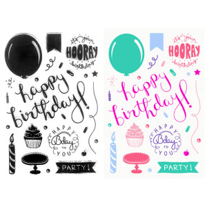 Stamps - Clear Stamps – Happy Birthday