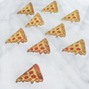 Pizza Slice Flair Pin - Enamel - Tiny - Pepperoni - Wildflower + Co. - Multiples - Turq2