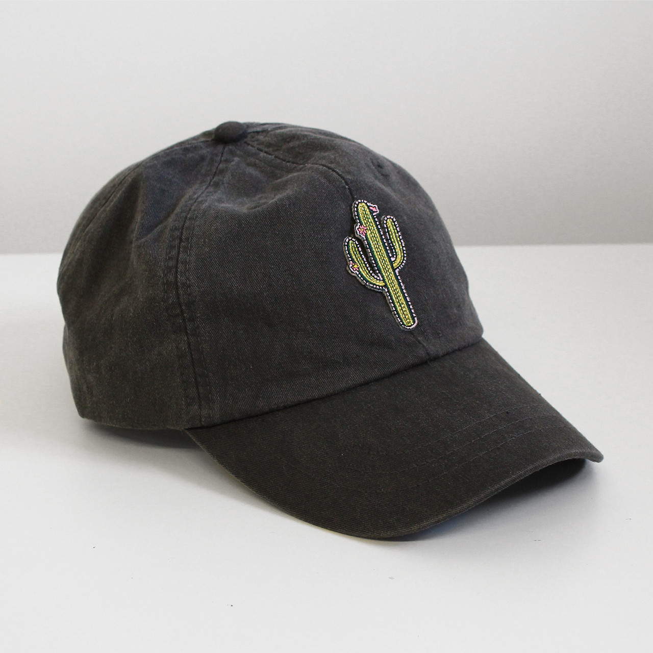 Cactus Embroidered Baseball Hat - Cap - Patch - Wildflower + Co. e65618772b9