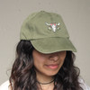 Longhorn Embroidered Baseball Hat - Cap - Patch - Southwestern - Wildflower + Co.