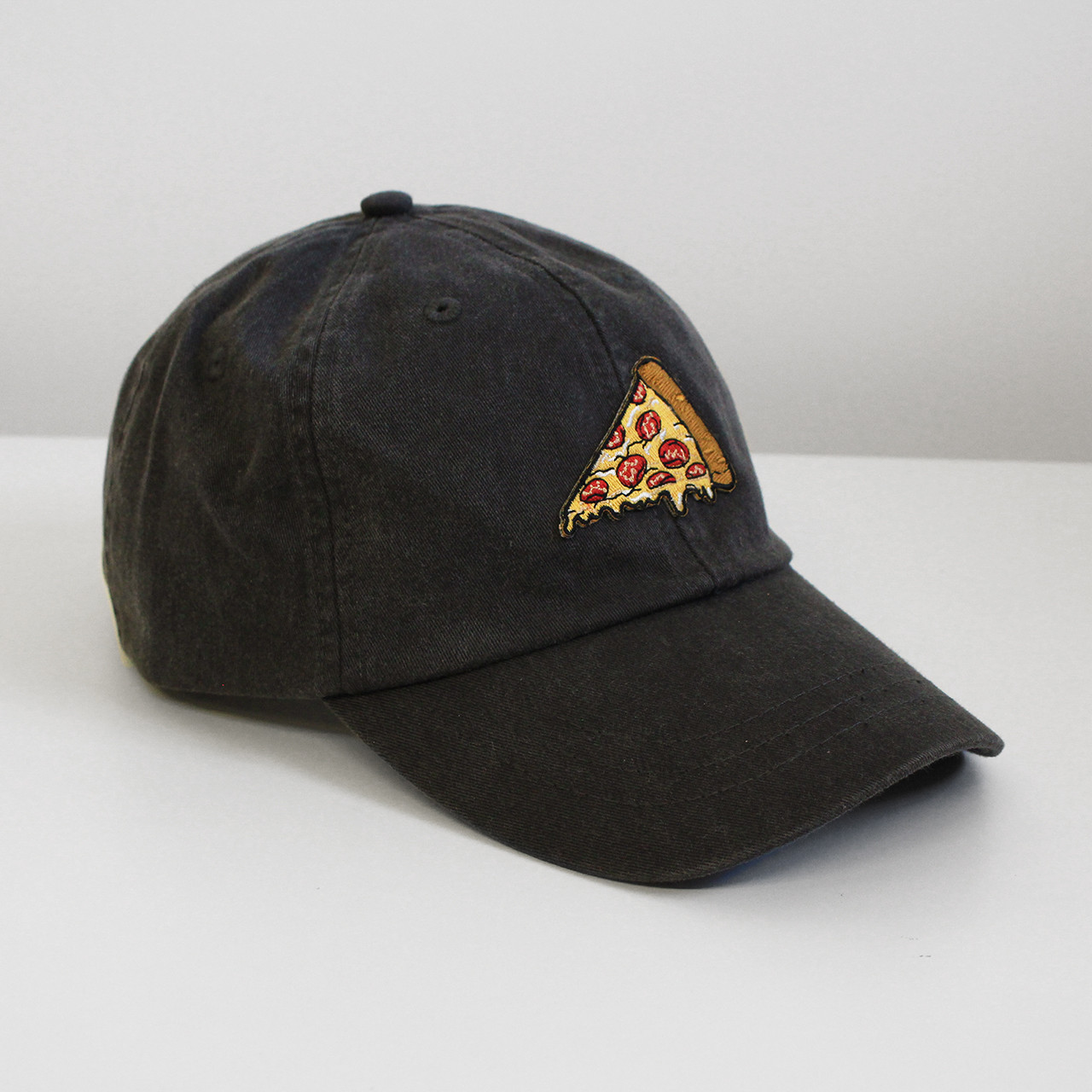 11fcc923713 Pizza Embroidered Baseball Hat - Cap - Patch - Wildflower + Co.
