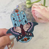 TR00132MLTOS Hamsa Butterfly Patch - Iron On Patches - Mystical - Blue - Wildflower + Co (13)