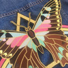Mystical Butterfly Rainbow Back Patch - Large - Iron On Embroidered Applique - Wildflower Co.  (16)