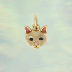 JW00414-GLD-OS-R - Kitten Charm, Matte Gold - Charm, Charms, Pendant, Pendants, DIY, Jewelry Making, Jewelry Supplies, Jewelry Making Supplies, Necklace Charm Wildflower & Co.jpg