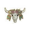 Longhorn Pin | Enamel Pin | Wildflower + Co.