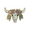 Longhorn Pin | Enamel Pin | Wildflower + Co.