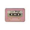 Love Songs Mix Tape Pin | Pastel Pink Enamel |  Wildflower + Co.