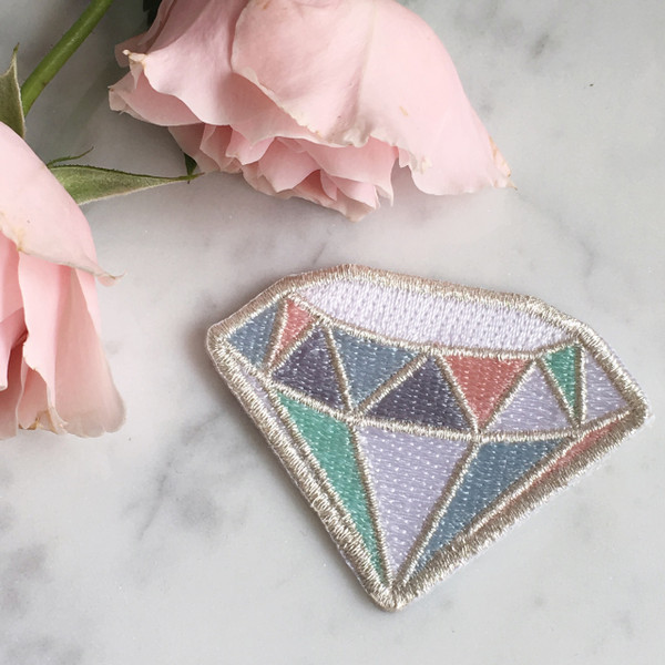 Diamond Patch - Metallic - Wedding - Bridal - Wildflower Co (1)