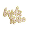 Bride Tribe Patch - Iron On Patches Appliques - Wildflower Co