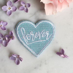 Forever Heart Patch - Something Blue - Bridal - Wedding - Wildflower Co (3)