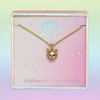 JW00473-GLD-OS-DYO - Cat Necklace - Gold - Charm Pendant - Kitten - Wildflower + Co. Jewelry