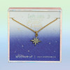 JW00481-GLD-OS-DYO - North Star Necklace Pave Crystal & Gold - Wildflower + Co Jewelry (2)