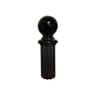 "Finial - 4"" Ball for Fluted Post"