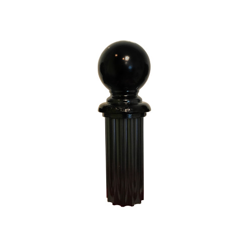 """Finial - 4"""" Ball for Fluted Post"""