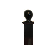 "Finial - 4"" X 4"" Estate Ball and Cap"