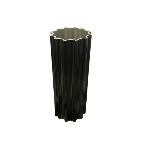 "Pole - 4"" Fluted Walled Round Pole"