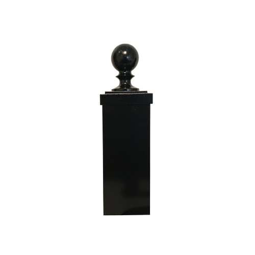 """Finial - 4"""" Ball and Cap for Square Post"""