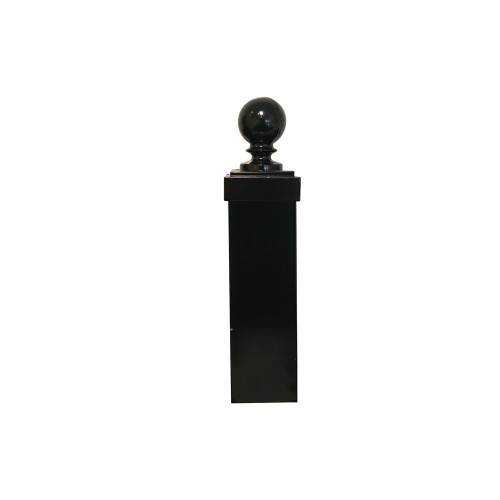 """Finial - 3"""" Ball and Cap for Square Post"""
