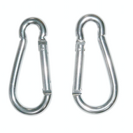 Set of Sign Clips (2) - Carabiner Style